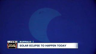 Buffalo State College gears up for Solar Eclipse 2017 - Video