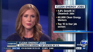 Colorado sees 4.8% growth in clean energy jobs