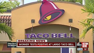 Worker tests positive at Largo Taco Bell