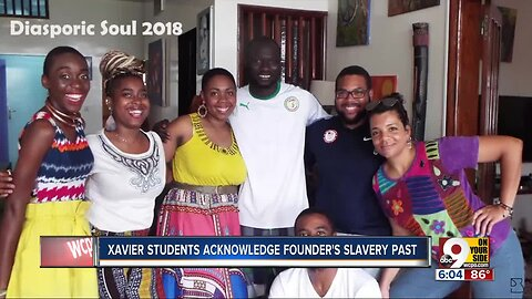 Black Xavier students confront founder's history of slave-ownership