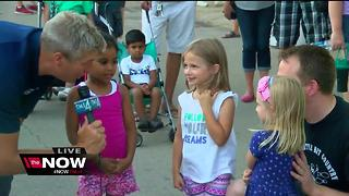 Brian Gotter visiting with Fair Goers - Video