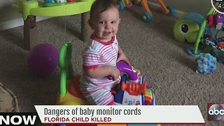 Dangers of baby monitor cords - Video