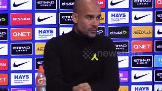Guardiola 'regrets' Redmond talk - Video