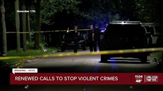 City leaders call for an end of violence in St. Pete