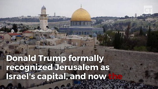 More Countries Follow Trump's Lead in Declaring Jerusalem to be Israel's Capital - Video