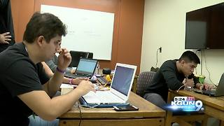 UA students participate in 4th Annual Hackathon - Video