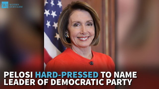 Pelosi Hard-Pressed To Name Leader of Democratic Party - Video