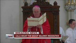 Buffalo leaders call for Bishop Malone's resignation (6 p.m.)
