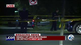 Detroit man killed in intentional hit and run on the city's west side - Video