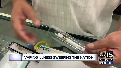 Vaping illnesses sweeping the nation