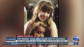 Missing Texas girls found safe in Colorado - Video