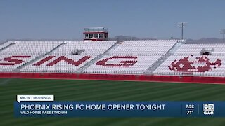 Phoenix Rising FC plays first game at new Wild Horse Pass stadium