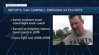 Reports: Campbell emerging as favorite in Lions coaching search