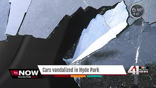 Residents find car windows smashed in Hyde Park - Video