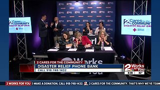 DONATE: 2 Cares for the Community Disaster Relief Drive