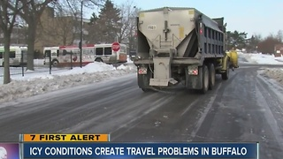Snow and ice frustrating residents - Video