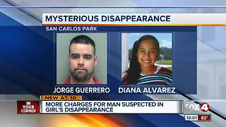 Suspect in Diana Alvarez disappearance facing more charges - Video