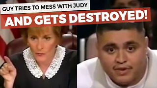 21-Year-Old Man With 10 Kids Claims He Slept With Judge Judy's Daughter - Video