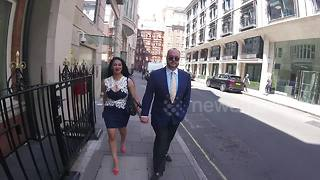 Jonathan Sothcott and Janine Nerissa Broadhead In Mayfair - Video