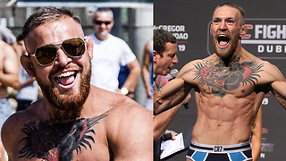 Conor McGregor Impersonator PRANKS Fans at Beach! - Video