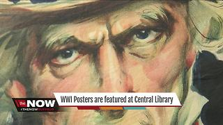 New Library exhibit features century old posters - Video
