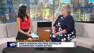Mimi's Mission helping people in Downriver communities - Video