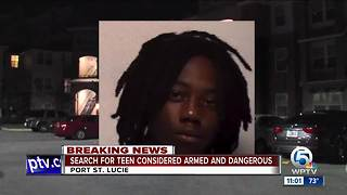 16-year sought in Port St. Lucie shooting - Video