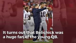 49ers GM Reveals What Bill Belichick Thought About Jimmy Garoppolo - Video