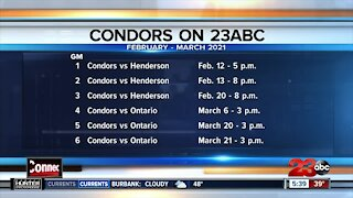 Bakersfield Condors on 23ABC