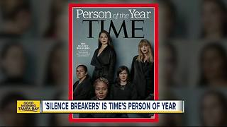 'Silence Breakers' of #MeToo movement named TIME magazine's 2017 person of the year - Video