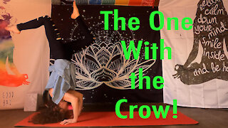 Crow To Headstand, Yoga Flow