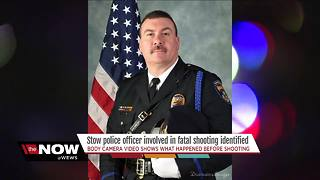 Stow police officer involved in fatal shooting identified - Video