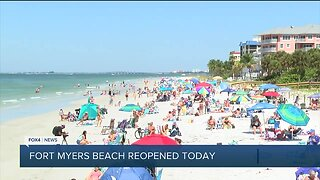 Fort Myers Beach reopens to the public