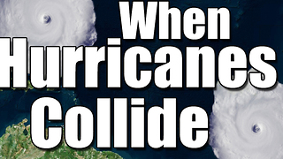 When hurricanes collide: The Fujiwhara Effect - Video