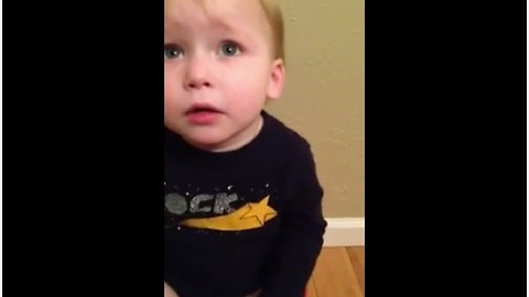 Kid Makes It Clear What He's Doing On The Toilet