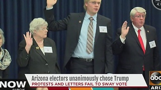 Donald Trump hits 270 votes to become 45th president - Video