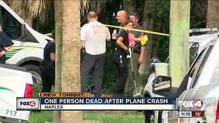 One dead after plane crash in Naples