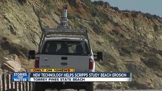 New technology to study beach erosion - Video