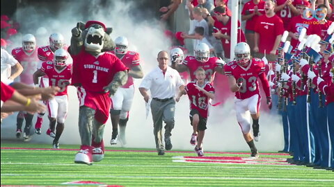 Young Cancer Survivor Brings Luck To College Football Team