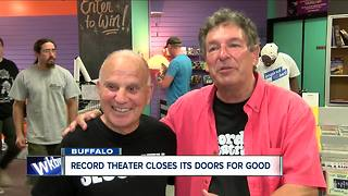 Record Theatre Closes for final time - Video