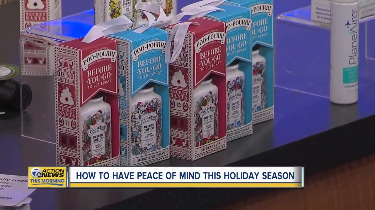 Maintain peace of mind during the holidays