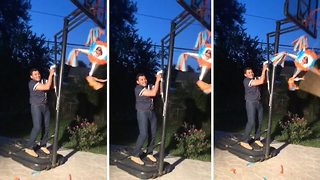 Hilarious video shows amazing pinata substitute - Video