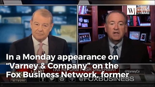 Huckabee: Republicans Need To Stop Pretending Democrats Will Ever Like Anything They Do - Video