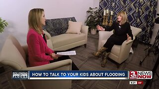 Talking to kids about natural disasters