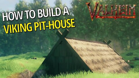 How To Build A Viking Pit-House - Valheim
