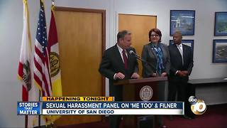 """Sexual harassment panel on """"Me Too"""" and Filner"""