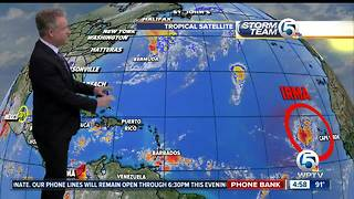 Tropical Storm Irma forms in Atlantic Ocean - Video