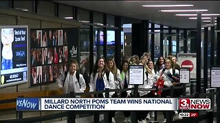 Millard North poms team wins national dance competition