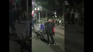 Protesters Storm Sacramento Streets After Stephon Clark Decision - Video