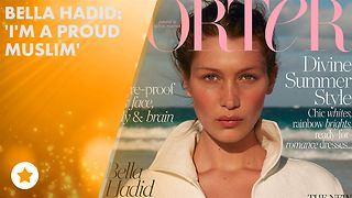 Bella Hadid gets candid about her religion - Video
